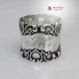 .Victorian Sterling Silver Napkin Ring Frank Whiting 1880