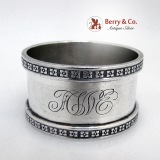 .Sterling Silver Beautiful Napkin Ring 1900