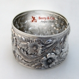 .Kirk Repousse Napkin Ring 28 Sterling Silver No Monogram