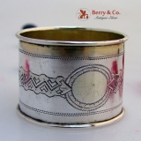 .Russian 84 Standard Silver Napkin Ring Moscow 1900