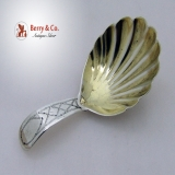 .Sctottish Sterling Silver Tea Caddy Spoon 1844