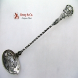 .Punch Ladle Dutch Renaissance Revival Medallion 833 Silver 1894