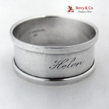 .Helen Napkin Ring International Sterling Silver 1925