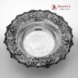 .Repousse Large Serving Bowl S Kirk And Son 1940 Sterling Silver