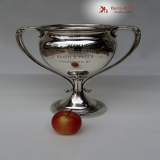 .Rose Tree Fox Hunting Club Trophy October 7th 1909 Sterling Silver Gorham