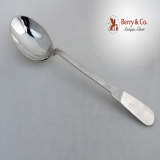 .Peterson Arts And Crafts Hammered Sterling Silver Large Serving Spoon 1940