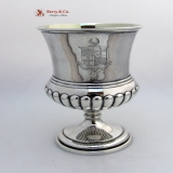 .Georgian Goblet Scottish Sterling Silver