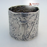 .Fontainebleau Sterling Silver Napkin Ring Gorham 1880