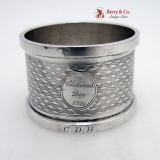 .Chlidren′s Day 1924 Napkin Ring English Sterling Silver