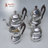 .Buccellati 4 Piece Tea and Coffee Set Sterling Silver