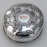 .Empire Soap Box Sterling Silver Durgin 1895