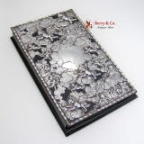.Swarm of Cupids Address Book Sterling Silver Louis Vuitton