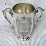 .Tiffany And Company Trophy or Loving Cup Sterling Silver 1917