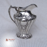 .Chantilly Grand Water Pitcher Sterling Silver Gorham 1907