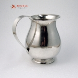 .Porter Blanchard Water Pitcher Hand Made Hammered Sterling Silver 1950