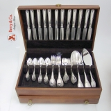.Empire Buccellati Service 12 plus Servers Sterling Silver 1960 No Monogram