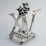 .Dragon Letter Holder XIV Sterling Silver London 1897