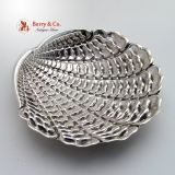 .Buccellati Large Silver Venus Shell Dish Sterling Silver