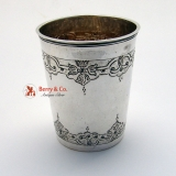 .18th Century Beaker Russian 84 Standard Silver