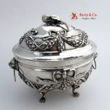 .18th Century Italian Silver Sugar Box Florence 1750