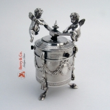 .Figural Cherub Pepper Grinder Sterling Silver France