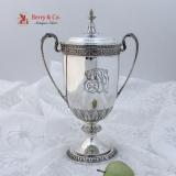 .Trophy Cup Sterling Silver Gorham Silversmiths 1910