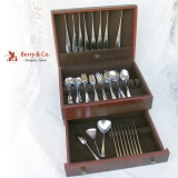 .Tjorn Flatware 52 Piece Set Dansk Sterling Silver 1968