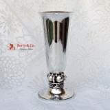 .La Paglia Vase Blossom Sterling Silver 1950 No Monograms
