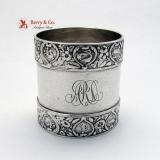 .Zodiac Gorham Napkin Ring Sterling Silver 1900