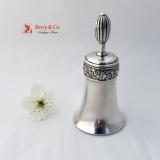.Tiffany Sterling Silver Tea Bell 1884