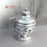 .Federal Sugar Bowl Alexandria John Gaither 1808 Coin Silver
