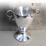 .Coin Silver Trophy Samuel Kirk 11 Oz Mark