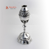 .Ornate Mate Cup Spanish Colonial Silver 1800