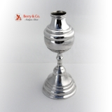 .Mate Cup Spanish Colonial Silver 1750 Engraved Cup