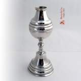 .Mate Cup Spanish Colonial Silver 1750 Octagonal Base