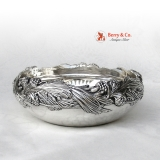 .Tiffany and Company Pine Cone Sterling Silver Centerpiece Bowl 1900