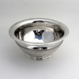 .Antique Serving Bowl Leipzig Sterling Silver 1780