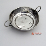 .Antique English Tastevin Wine Taster Sterling Silver London 1679