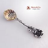 .Harlequin Salt Spoons Reed Barton Old Mark Sterling Silver