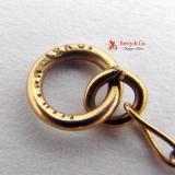 Large Nephrite Pendant Pendant 18K Gold Nephrite Beads