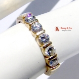 Five Diamond 14K Gold Ring