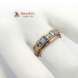 Diamond Band Ring 14K Gold